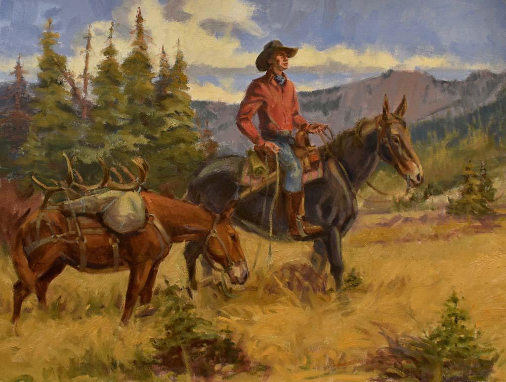 """J.C. Pack mule 18""""x24"""""""